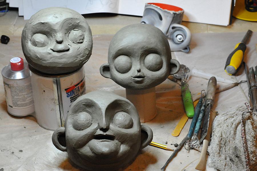 11- faces sculpting