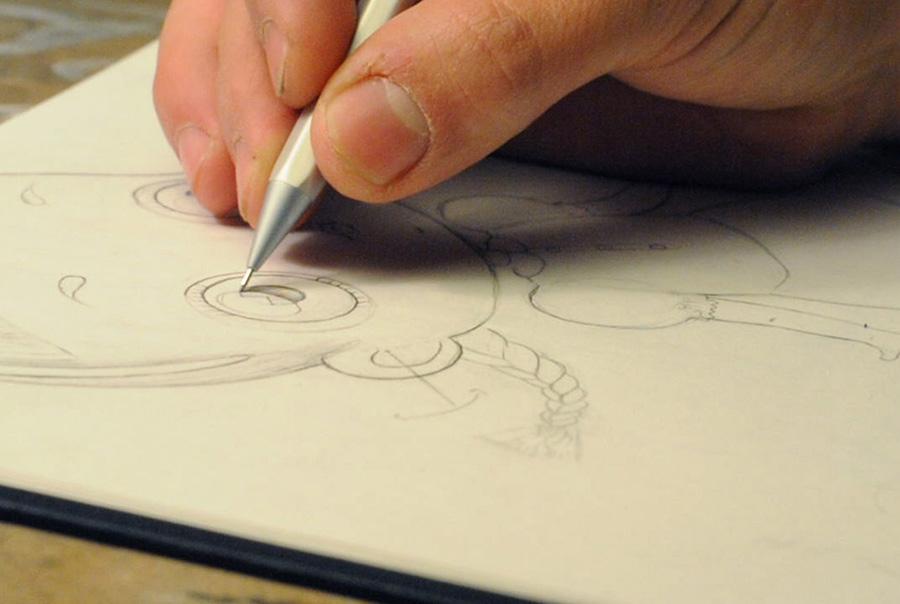 3- caracter sketch