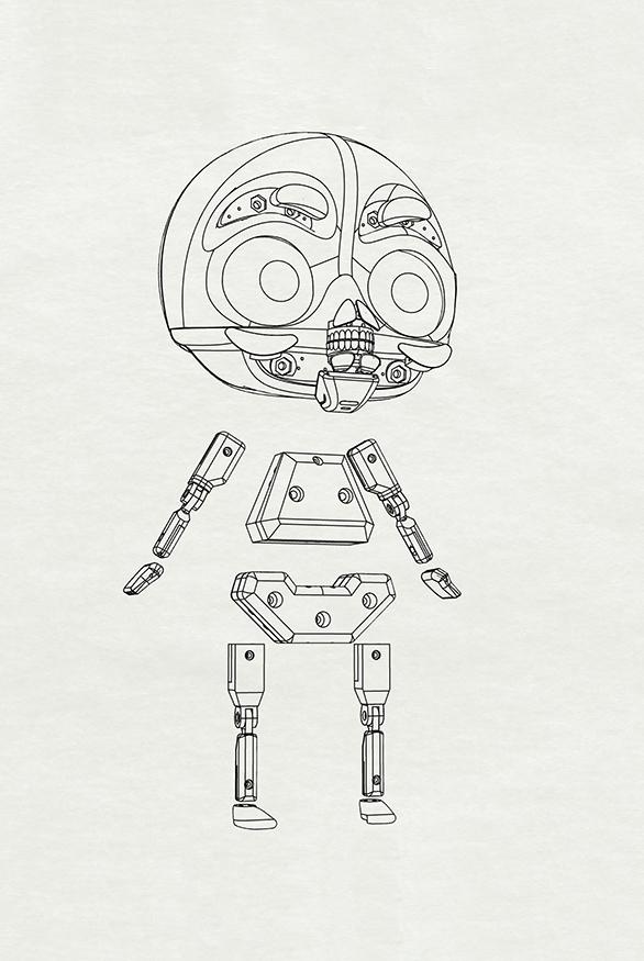 30- skeleton assembled bis
