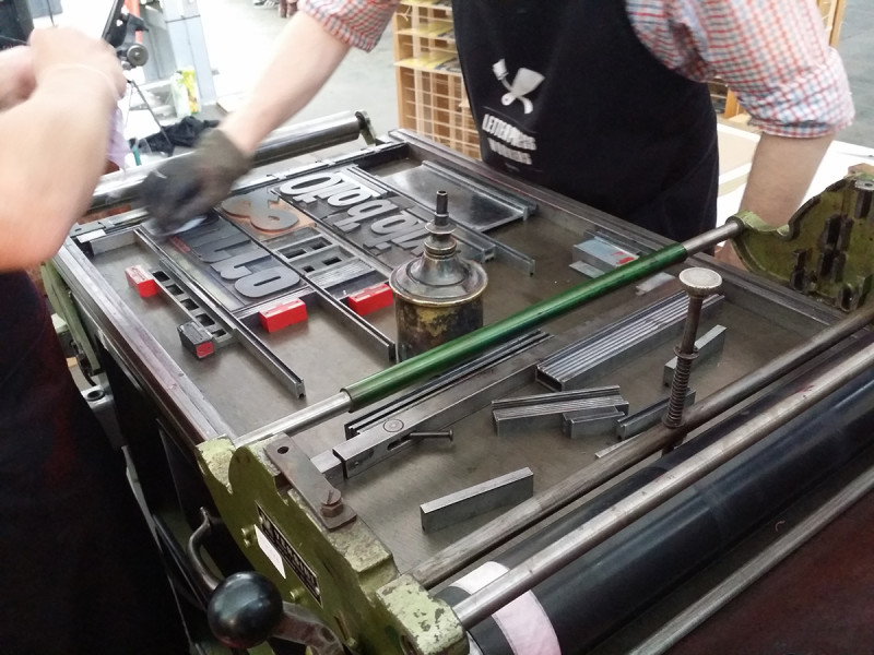 4- letterpress workers 2014 @ Leoncavallo