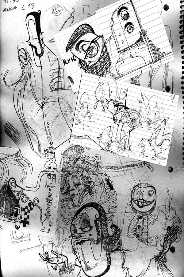 14- rough sketches